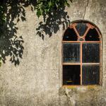 Altes Fenster auf Pellworm
