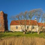 Panorama der Alten Kirche auf Pellworm