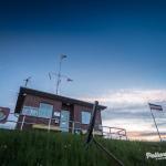 Pellwormer Hafen zur blauen Stunde