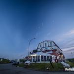 Pellworm Hafen Pub zur blauen Stunde