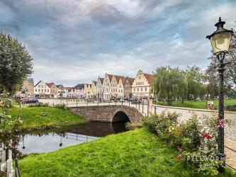 Auf dem Weg nach Pellworm (2) – Friedrichstadt im Spätsommer