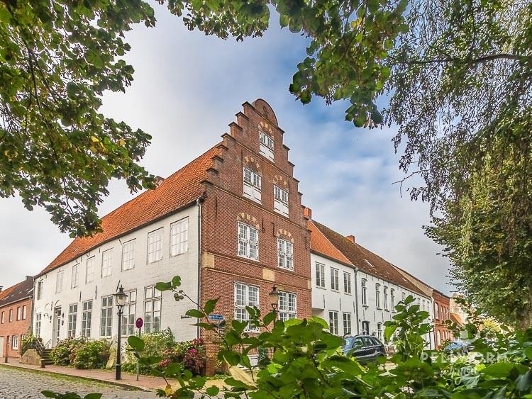Hübsches Friedrichstadt im Spätsommer