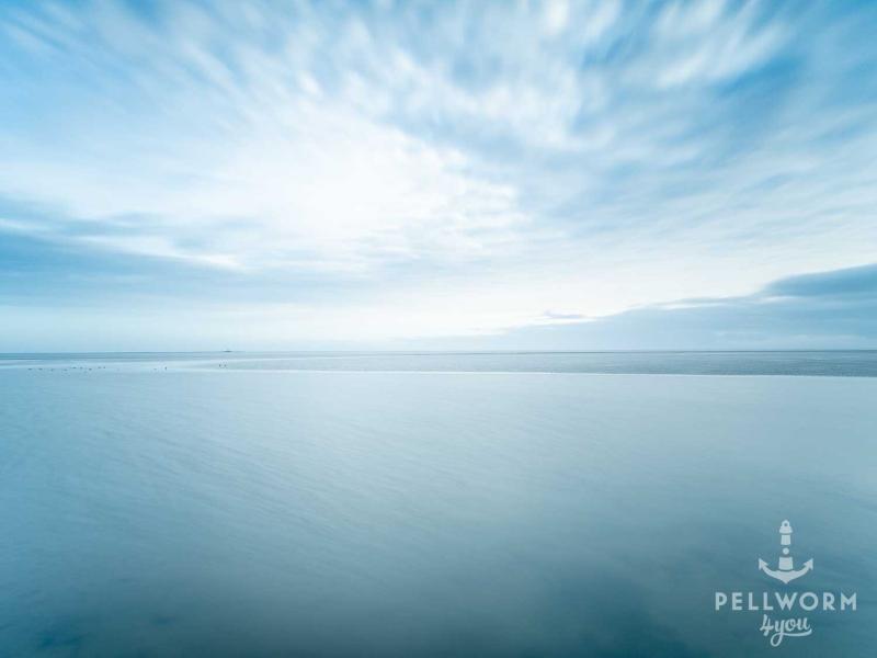 Ruhe und Weite in Blau